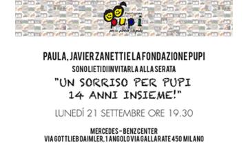Partecipa Alla Cena Della Fondazione PUPI