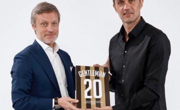 "Paolo Maldini Riceve ""Gentleman 20"""