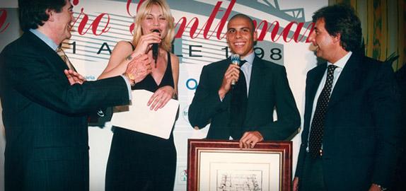Premio Gentleman Fair Play 1998 Ronaldo
