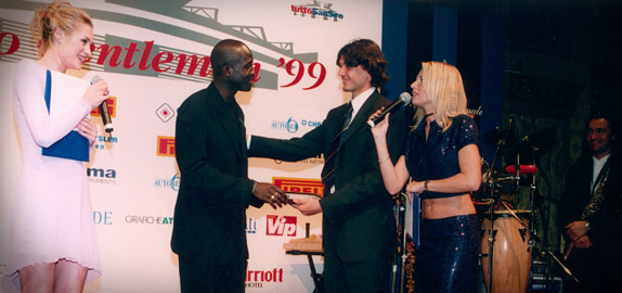 Premio Gentleman Fair Play 1999 - Maldini Weah