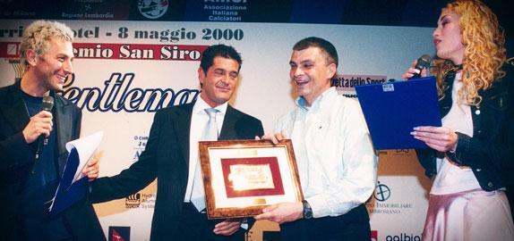 Premio Gentleman Fair Play 2000 - Premiazioni
