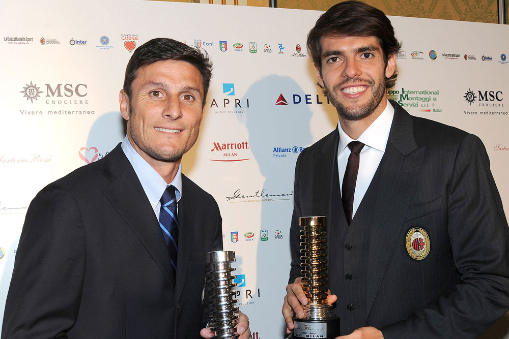 Premio Gentleman Fair Play Zanetti Kakà